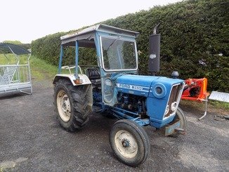 Tracteur agricole Ford 3600 - 1